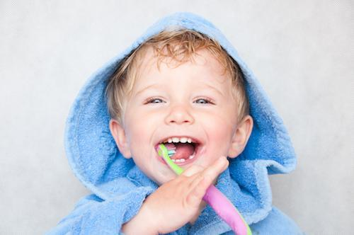 Young boy with toothbrush | Dentist Coffs Harbour