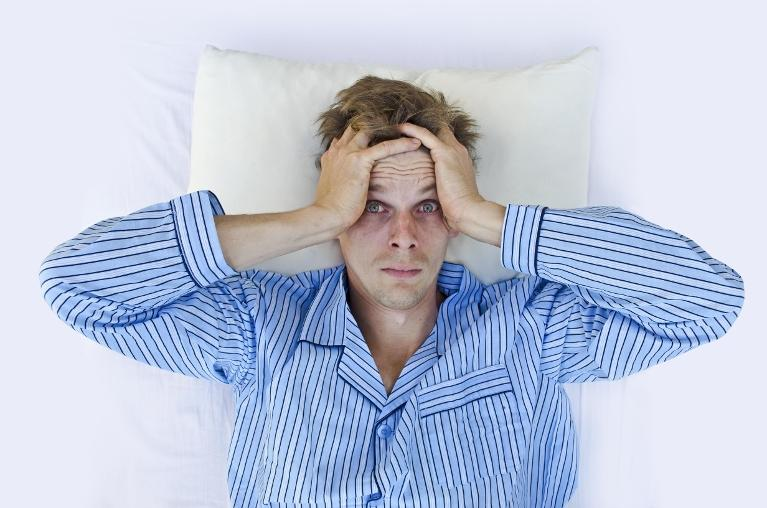 man not able to sleep | Dentist in Coffs Harbour NSW