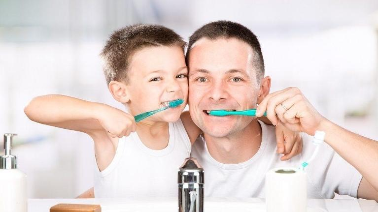 : When it comes to kids' oral health, no-one knows more than a dentist. But getting kids into the h