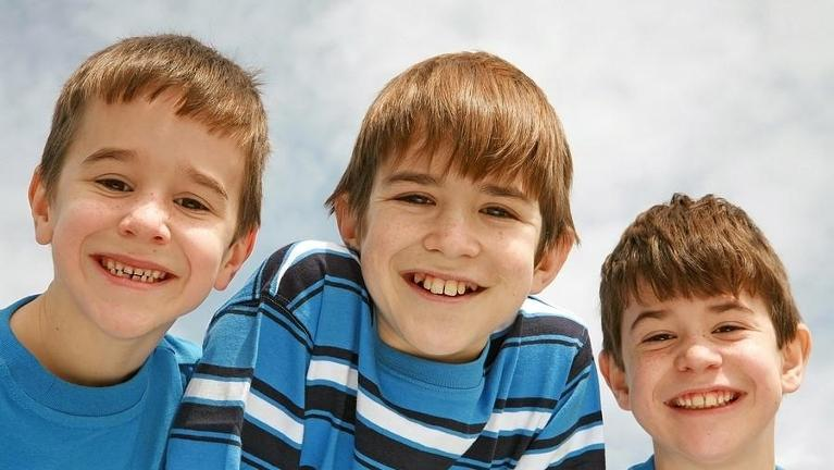 a group of children smiles | dentist coffs harbour