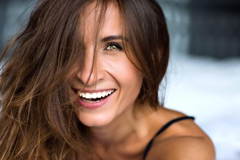 Woman smiling | Dentist in Coffs Harbour NSW
